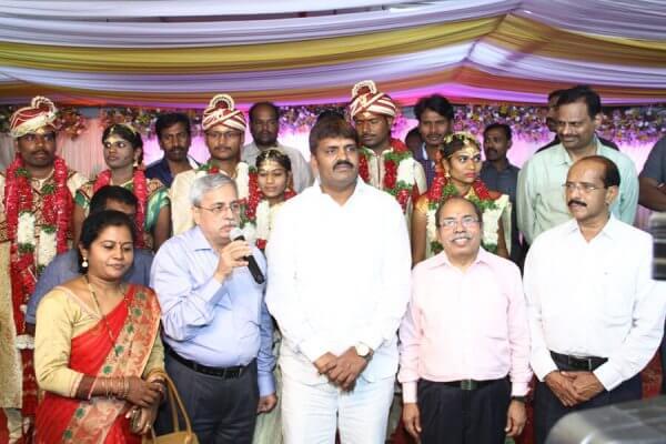 G Ravender Rao Dr G S Rao and Bonthu Rammohan garu (Mayor)