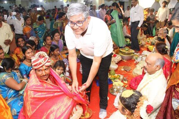 Tanikella Bharani garu at Yashoda Foundation orphans wedding