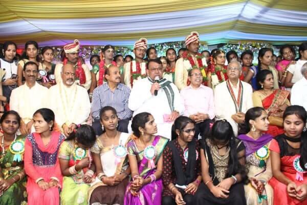 YF wedding ceremony